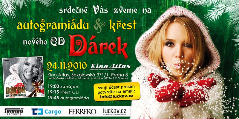 DVD 2x20 klipy Lucky Vondráčkové novinky  37834b68c1