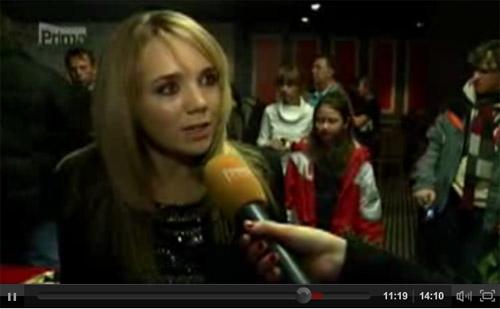 video  Lucie Vondráčková křtila vánoční album Dárek d34ad1ef59