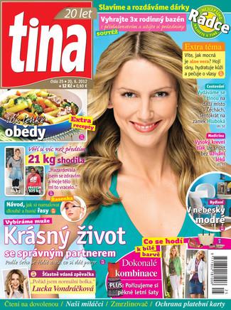 Lucka v časopise Tina